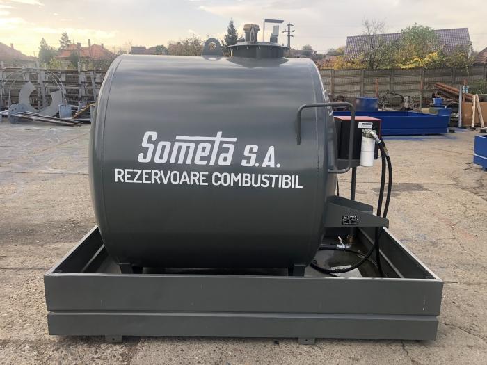 Rezervor suprateran 3000 litri cu pompa Cube 56 0