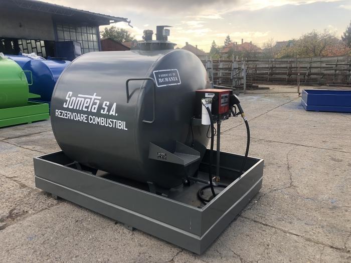 Rezervor suprateran 3000 litri cu pompa Cube 56 1