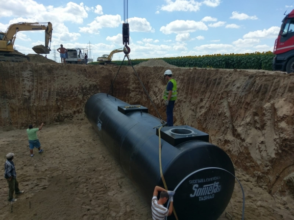 Rezervor subteran 60000 litri pereti dubli 0