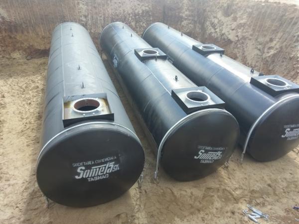 Rezervor subteran 60000 litri pereti dubli 13