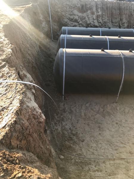 Rezervor subteran 60000 litri pereti dubli 12