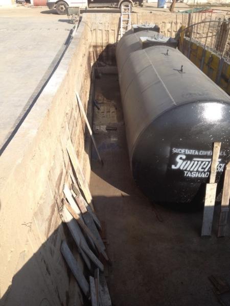 Rezervor subteran 60000 litri pereti dubli 3