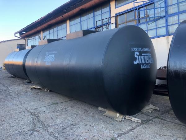 Rezervor subteran 30000 litri cu pereti dubli 2