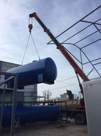 Rezervor suprateran cu pereti dubli  20000 litri 2