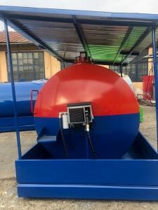Rezervor suprateran 9000 litri cu copertină și pompă CUBE 70 electronica1